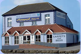 Homeguard carpets and beds, South Wales
